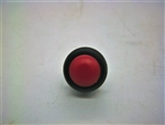 Daymak Push Button Switch - Round, Red - 2 pin